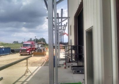GAS PLANT NEW CONSTRUCTION