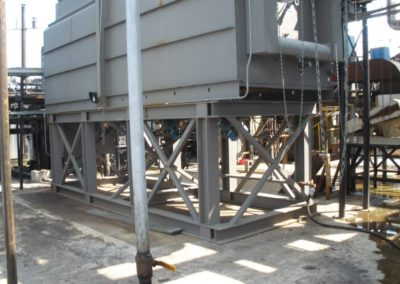 Sq Tank & Support Structure