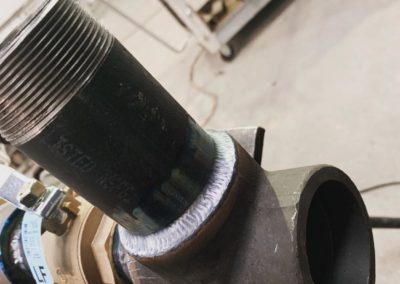Weld for Drill Line